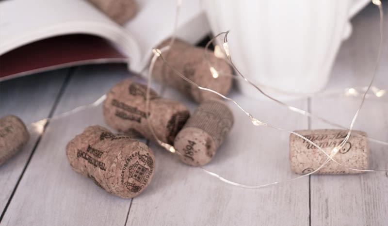 пробки от шампанского