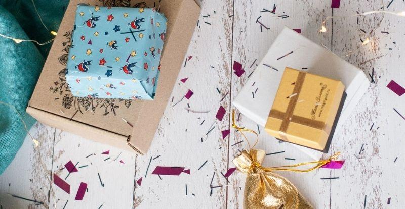 фото с упаковкой подарков